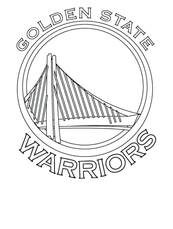678x896 Nba Coloring Page Colouring Pages Golden State Warriors Nba