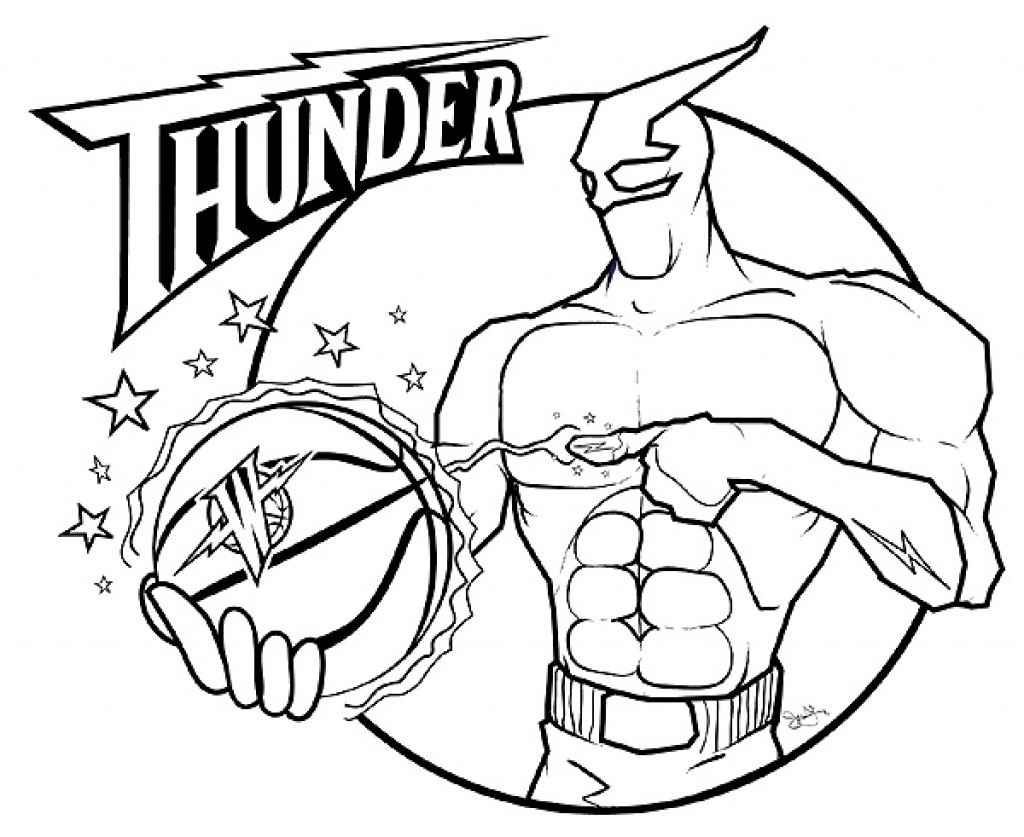 1024x837 Basketball Teams Coloring Pages Getcoloringpages Within Nba Logo