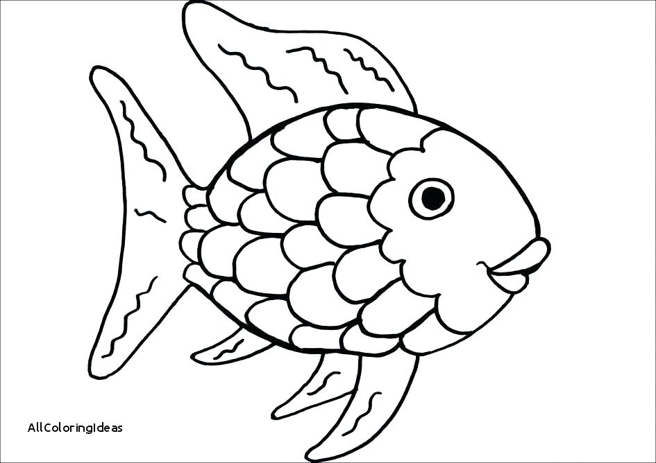 Goldfish Coloring Page at GetDrawings.com | Free for personal use ...