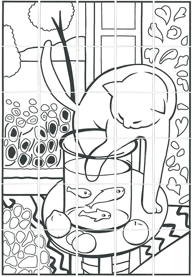 Goldfish Coloring Pages Printable At Getdrawings Com Free For