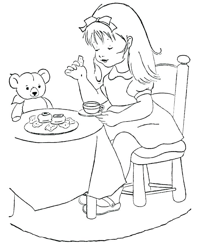 670x820 Goldilocks Coloring Pages And The Three Bears Coloring Pages Three