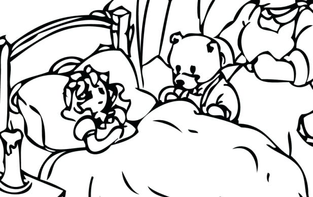 617x390 Goldilocks Coloring Pages Preview Goldilocks And The Three Bears