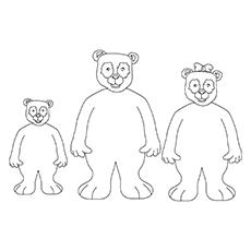 230x230 Top Free Printable Goldilocks And The Three Bears Coloring