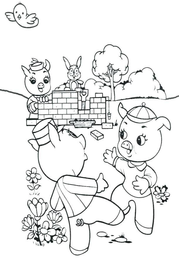 610x883 Goldilocks And The Three Bears Coloring Pages Pdf Kids Coloring