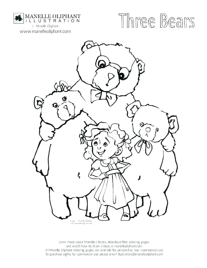 687x889 Goldilocks Coloring Page Coloring Page Coloring Page Epic Coloring