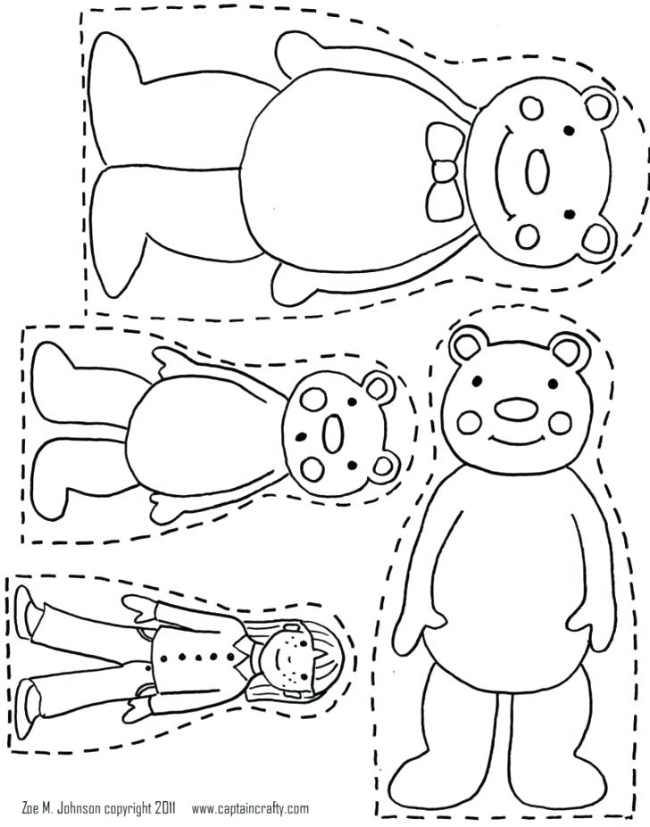 728x927 Goldilocks Coloring Pages Download The Three Bears Coloring Pages