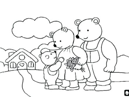 440x330 Goldilocks Coloring Pages Puppet Coloring Pages Coloring Pages