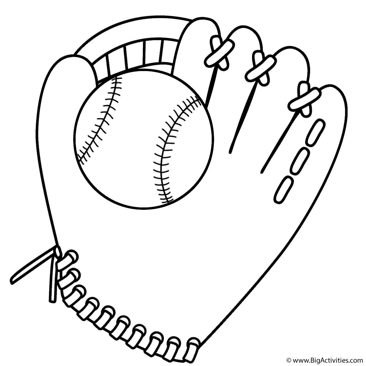 1200x1200 Baseball Glove And Ball