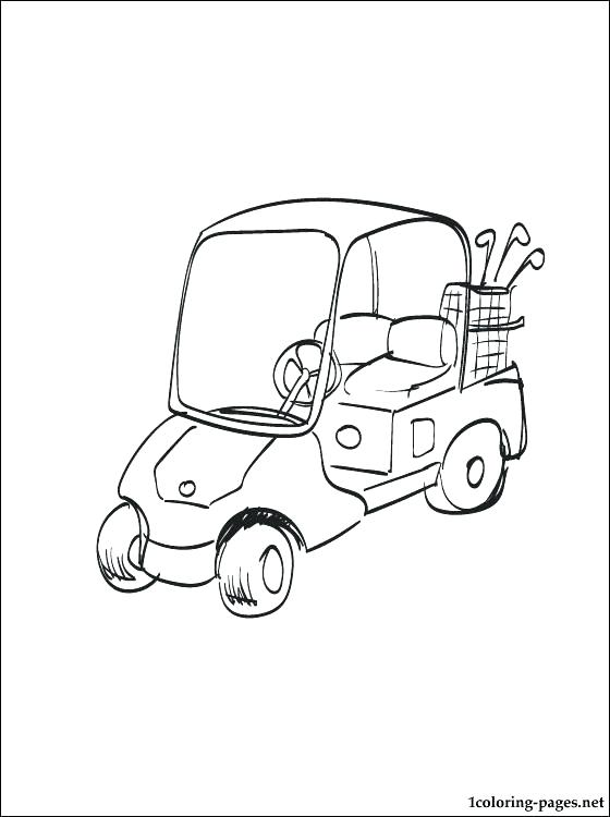 560x750 Golf Coloring Page Golf Coloring Page Twisty Noodle Golf Course