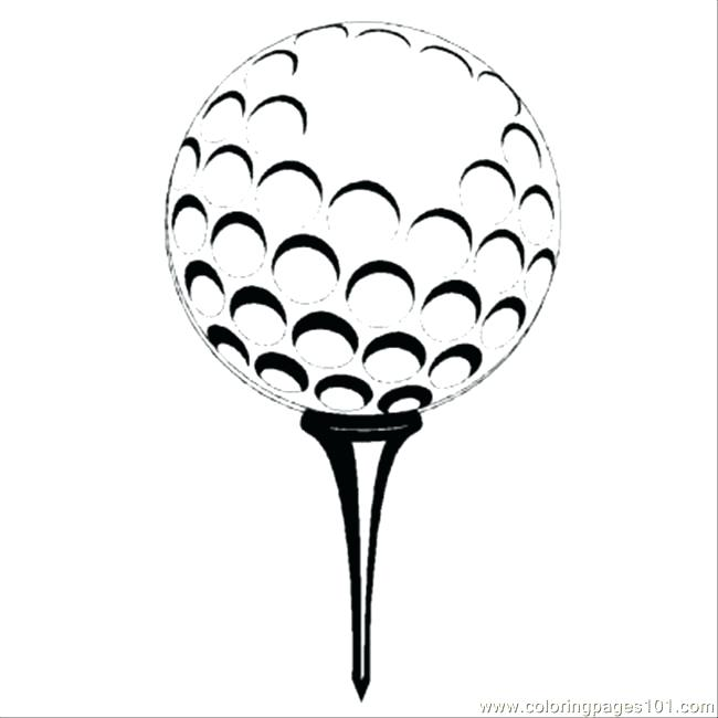 650x650 Golf Coloring Page S Golf Course Coloring Pages