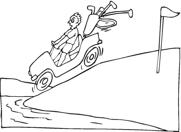 630x462 Golf Coloring Pages