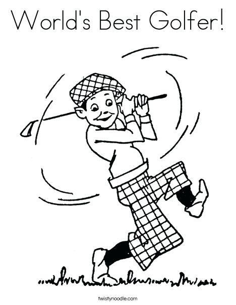 468x605 Golf Coloring Pages Minion Golfer Coloring Page Blocktradex Club