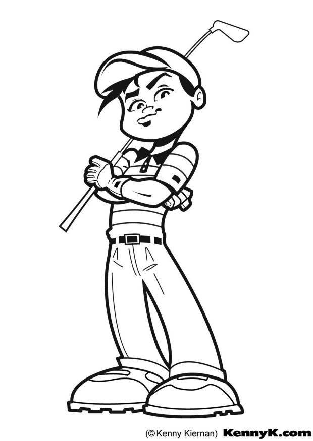 620x875 Golf Coloring Page Baby Toddler Golf Golf