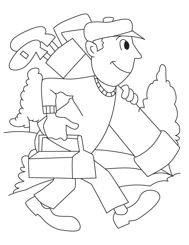 612x792 Golf Course Coloring Page Download Free Golf Course Coloring