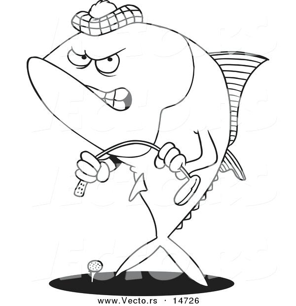 600x620 Tuna Fish Coloring Page Printable Fish Coloring Pages Picture