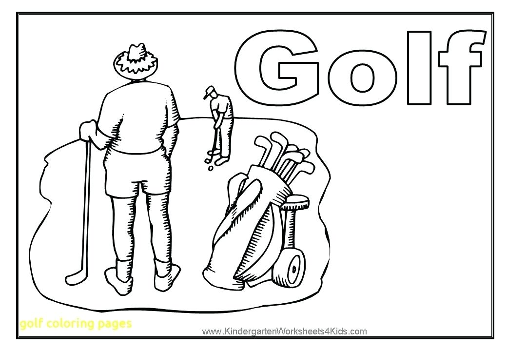 1040x720 Golf Coloring Page Mini Golf Coloring Pages Golf Course Coloring