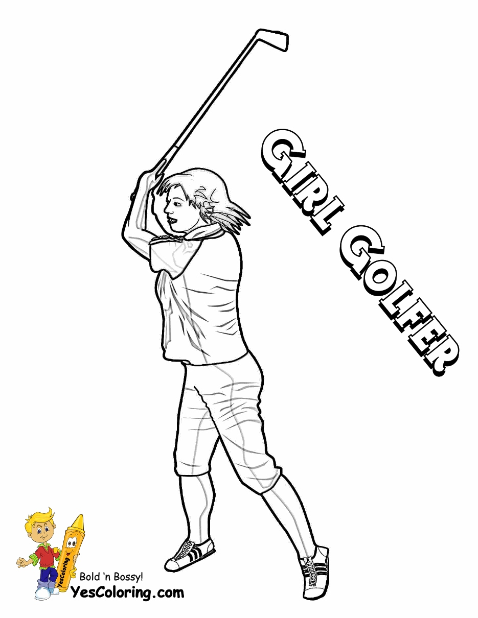 935x1210 Golf Coloring Pages Inspirational Gallant Golf Coloring Pages