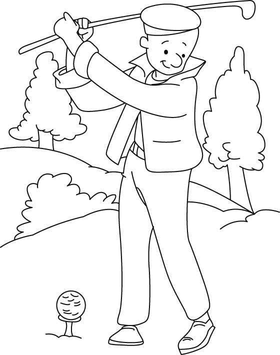 560x710 Golf Coloring Pages New Minion Golf Picture Coloring Pages Logo
