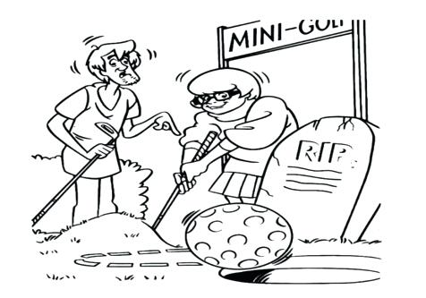 476x333 Golf Coloring Page Coloring Page Golf Club Coloring Pages Volet