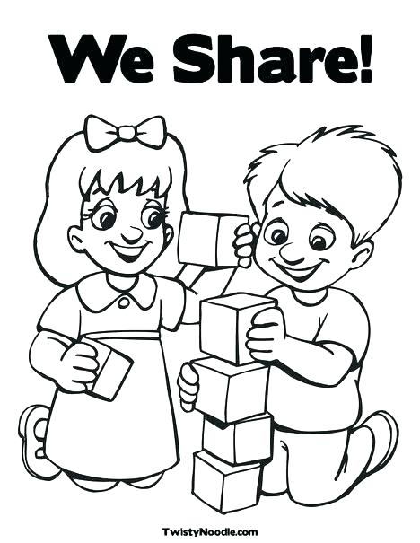 468x605 Good Manners Coloring Pages Sentence With Good Manners Coloring