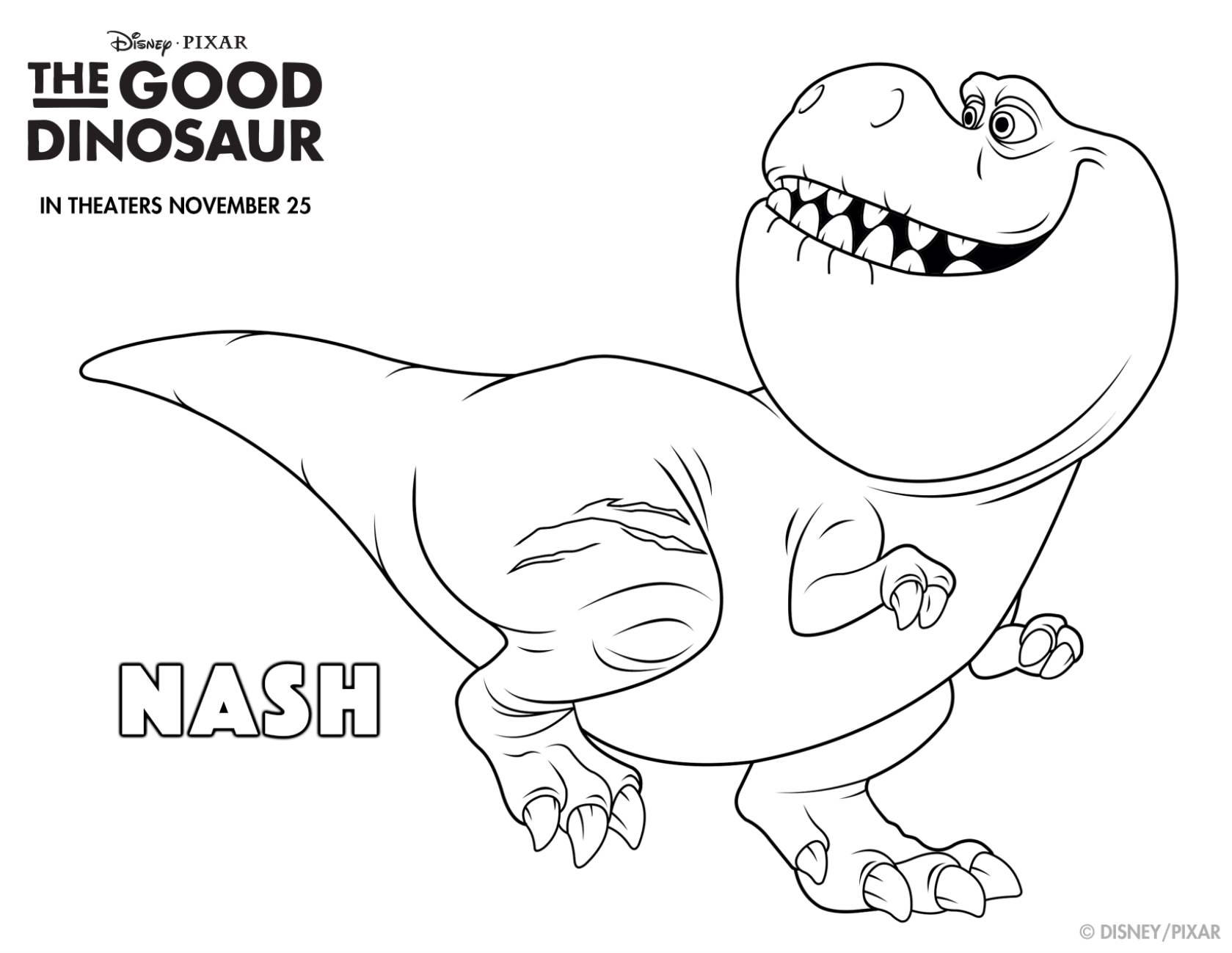 1679x1299 Get Rough And Tough With This Good Dino Coloring Sheet! Meet Nash