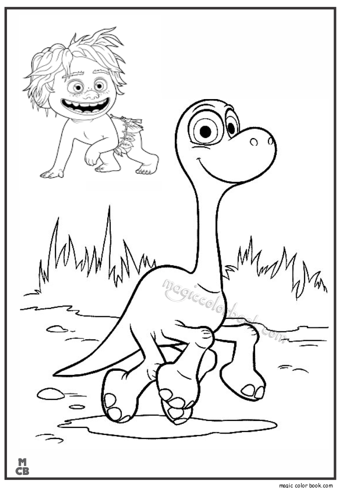 685x975 Good Dinosaur Coloring Pages Free Print