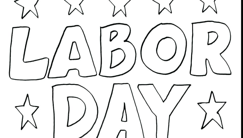 960x544 Good Luck Coloring Pages Good Coloring Pages Free Labor Day