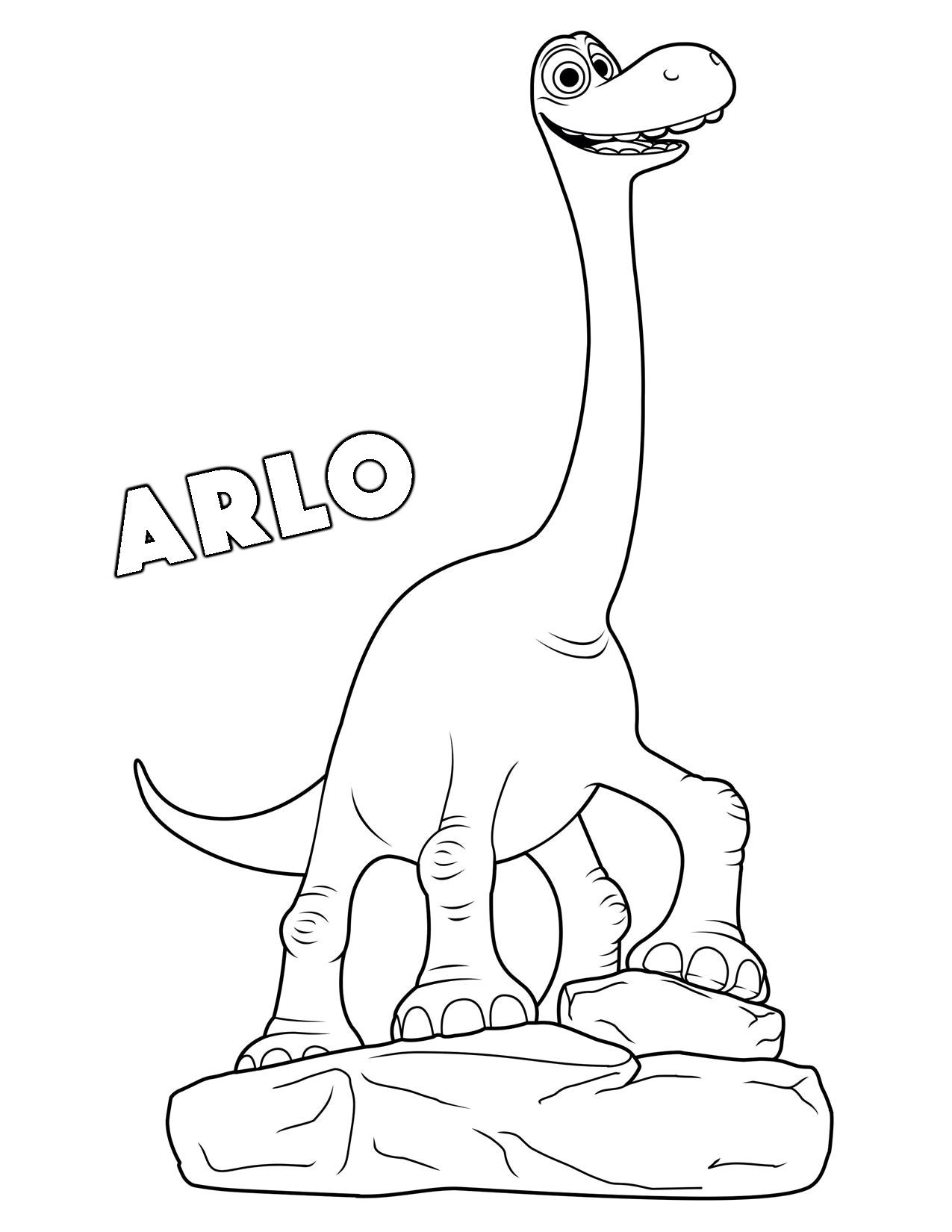 1275x1650 Printable Printable The Good Dinosaur Coloring Pages Kids Coloring