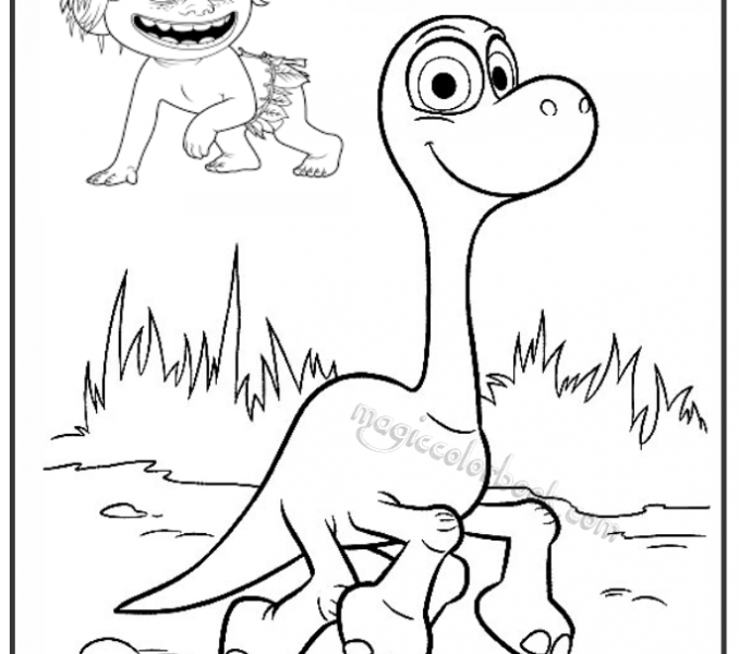 678x600 Good Coloring Pages To Print Good Dinosaur Coloring Pages Free