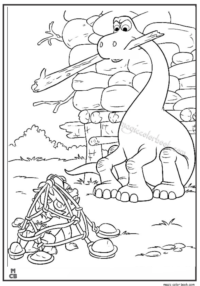 685x975 Good Dinosaur Coloring Pages Free Printable
