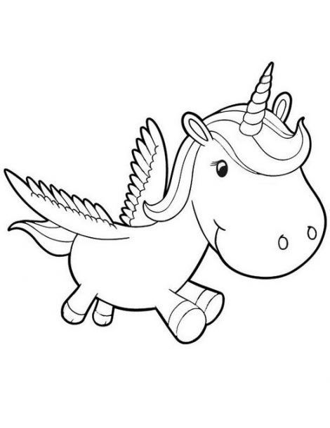 470x608 Good Coloring Page Unicorn For Coloring Print With Coloring