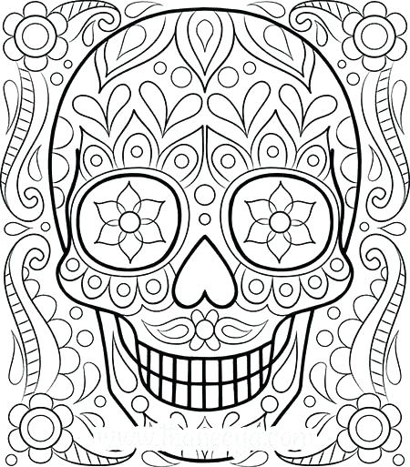 450x513 Coloring Pages To Print Free Adult Coloring Pages To Print Luxury