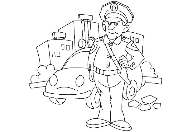 600x424 Job Coloring Pages Barber Job Is To Cut Hair Coloring Pages Batch