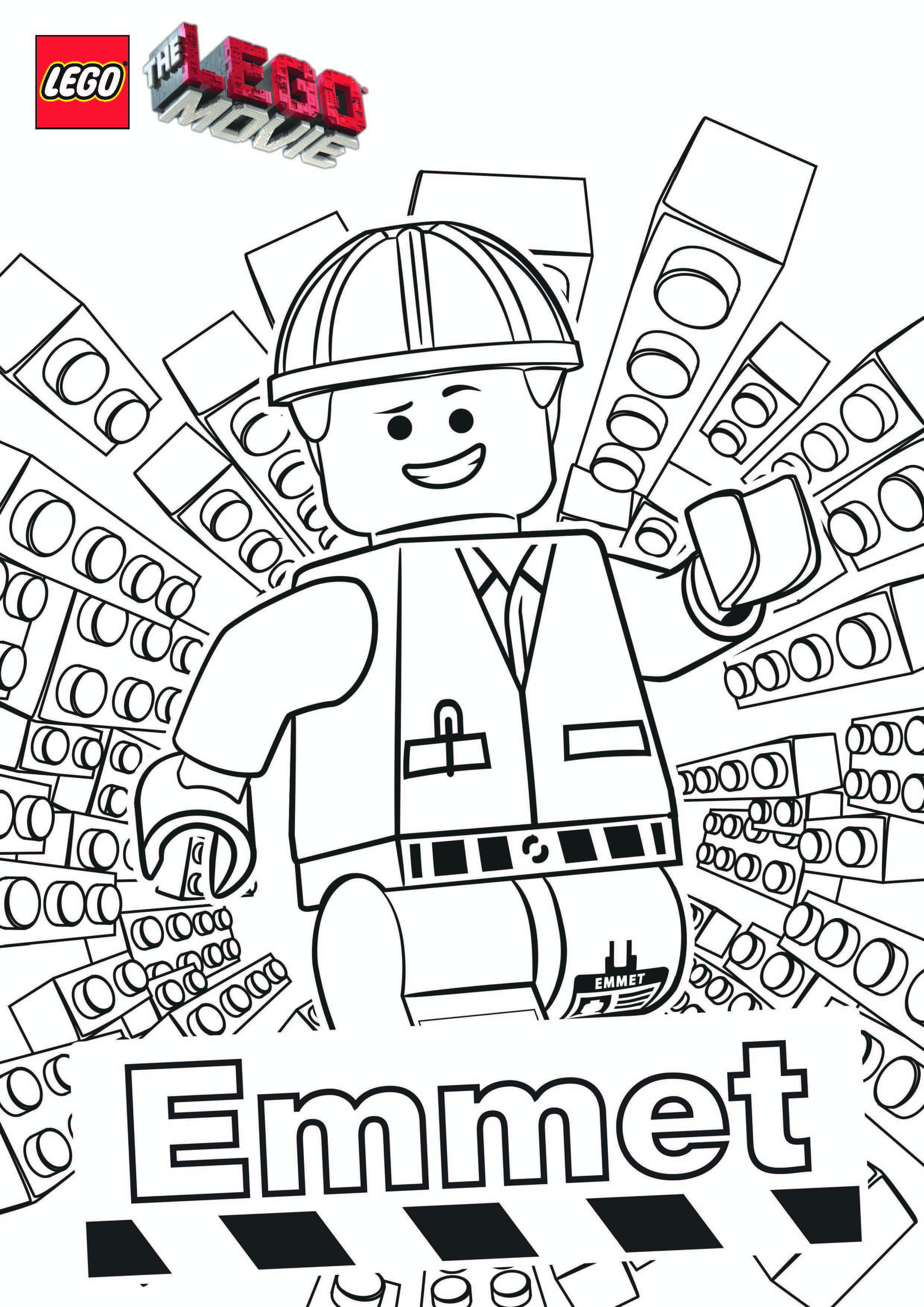 2481x3508 Unique Emmet Lego Movie Coloring Pages The Leg