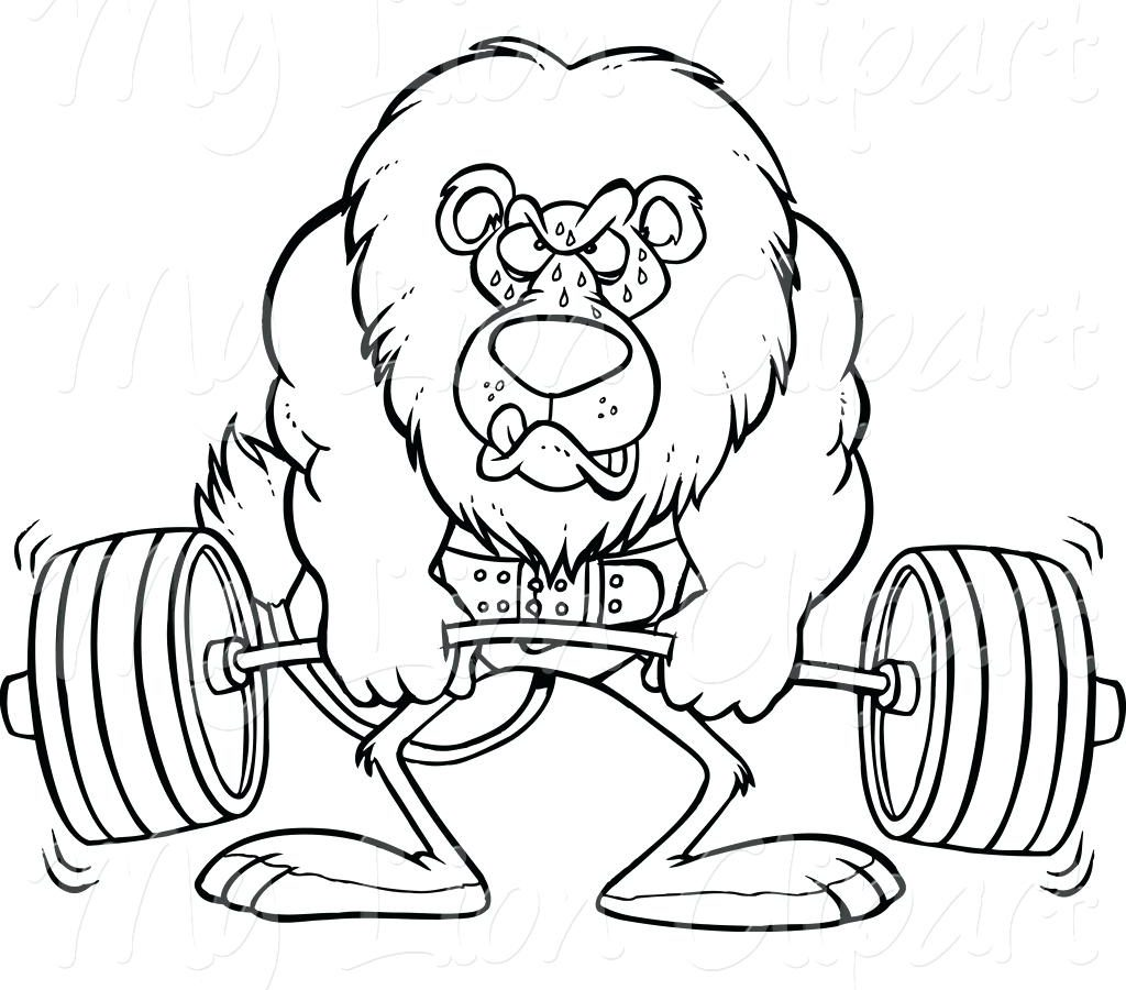 1024x900 Weight Training Workout Coloringage Dreaded Weightliftingages