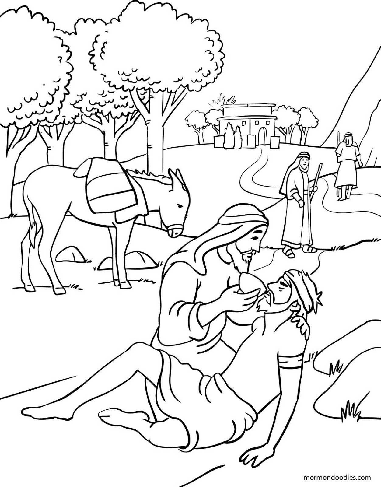 1252x1600 Good Samaritan Coloring Page Awesome Good Samaritan Coloring Page
