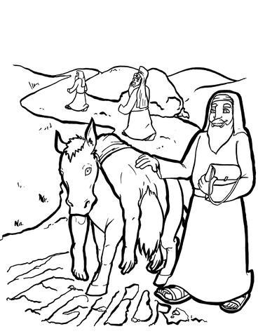 368x479 Good Samaritan Coloring Page Children's Ministry Deals