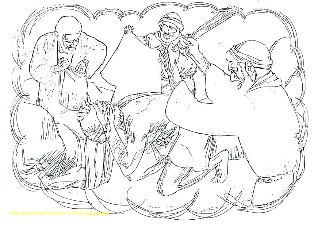 1024x740 Good Samaritan Coloring Pages Good Coloring Page The With Pages