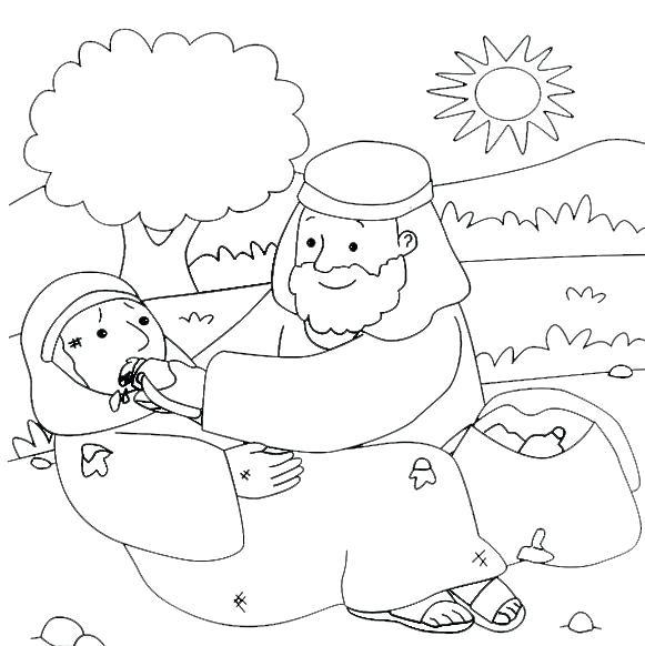 581x582 New Good Samaritan Coloring Page Or Good Coloring Page Coloring