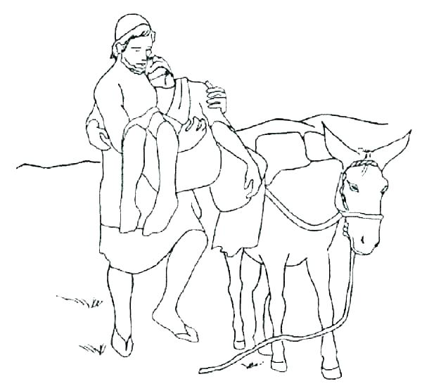 600x549 The Good Education Inspired Free Bible Coloring Pages The Good