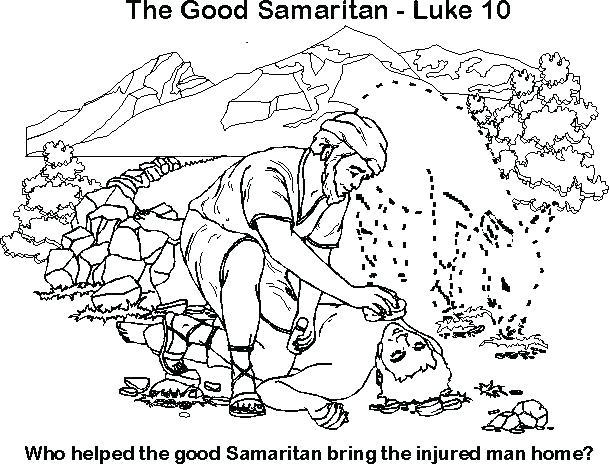 Good Samaritan Coloring Page at GetDrawings.com | Free for personal ...