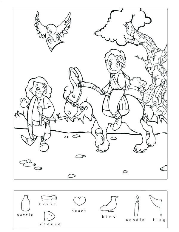 600x776 The Good Samaritan Coloring Page Good Coloring Page The Good
