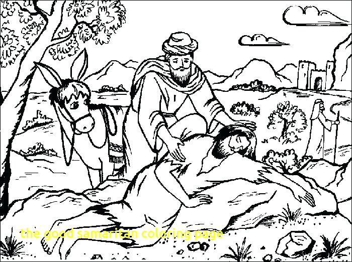 700x522 The Good Samaritan Coloring Page Good Coloring Page