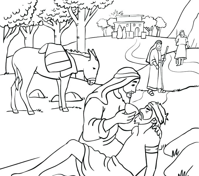 The Best Free Samaritan Coloring Page Images Download From 50 Free