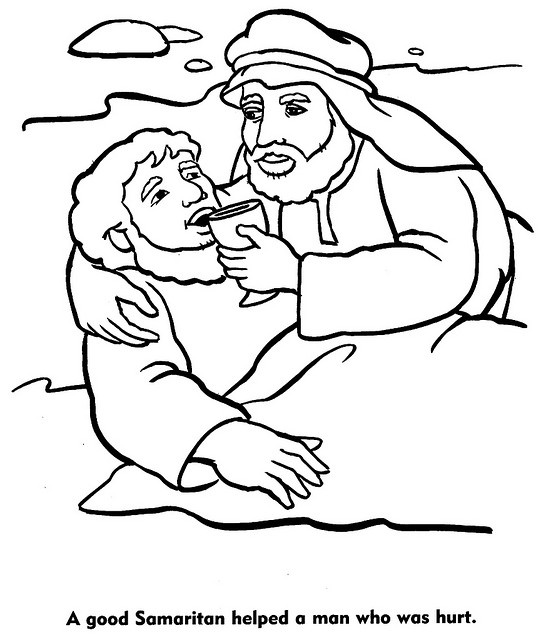 546x640 Good Coloring Pages Fancy Good Samaritan Coloring Page For Your