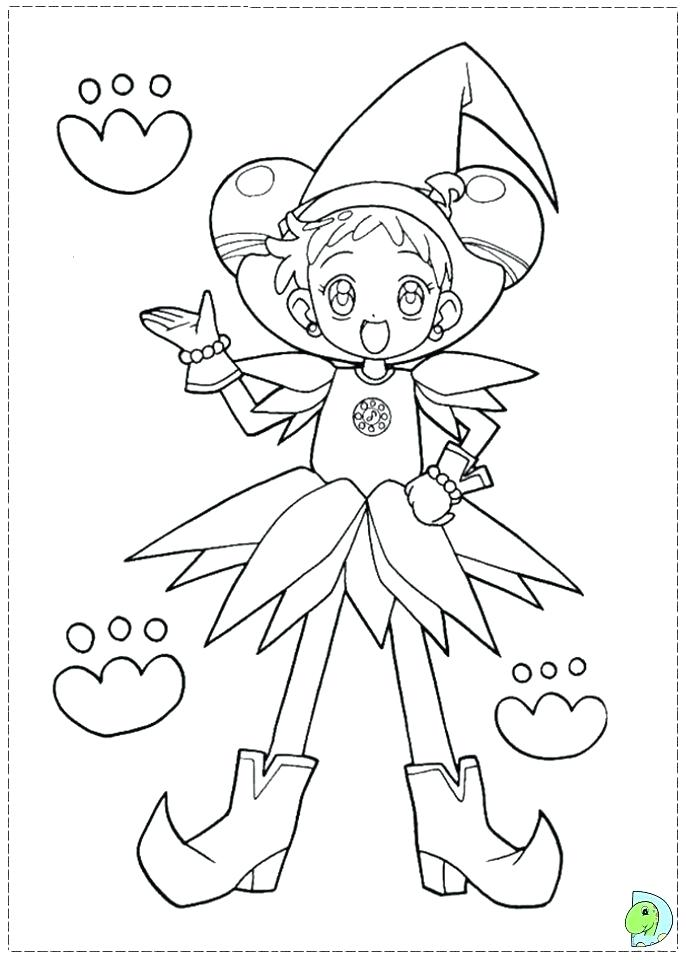 691x960 Coloring Pages Google Search Anime Coloring Pages Magical Doremi