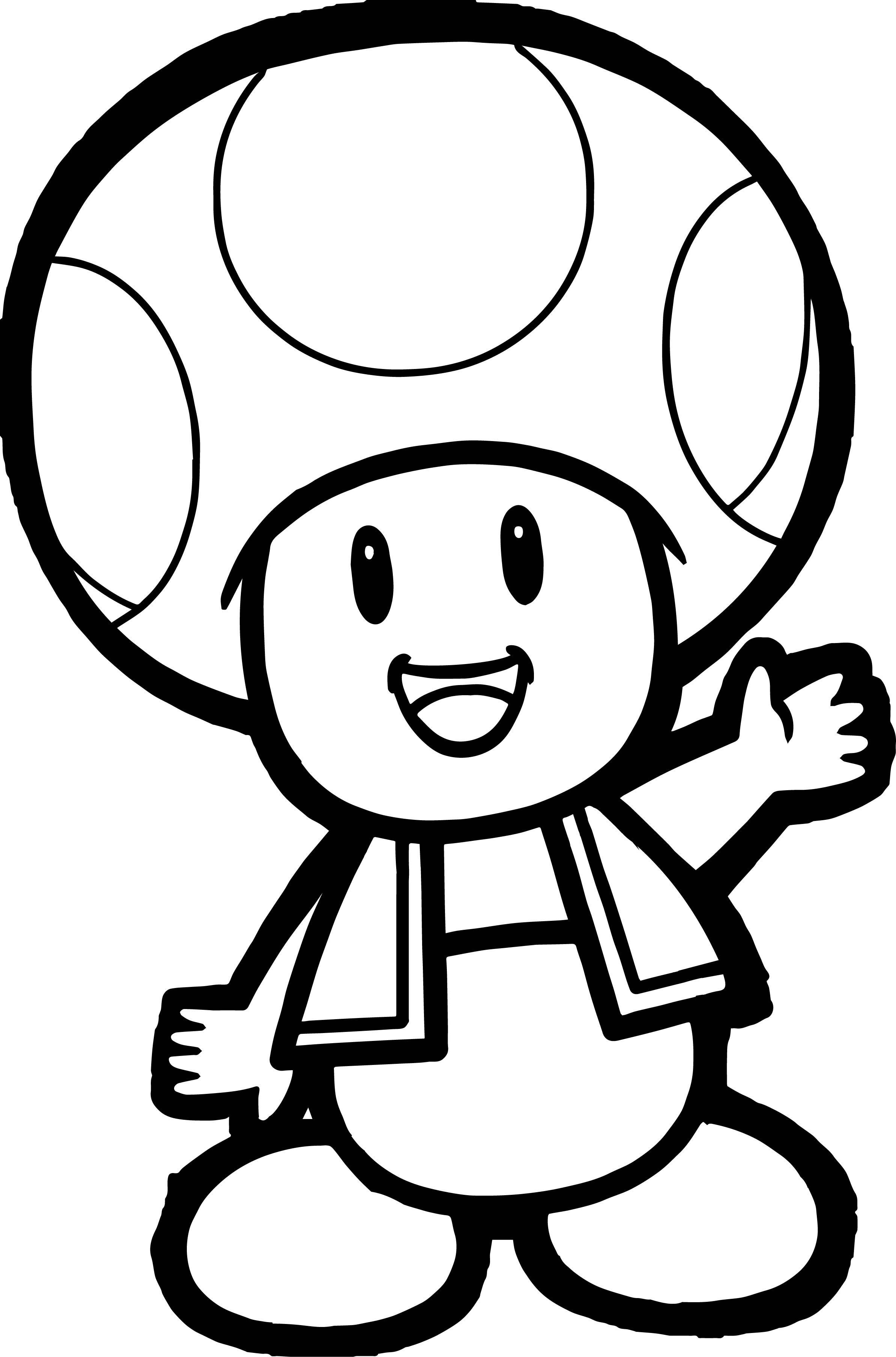 2388x3615 Awesome Super Mario Bros Coloring Pages Gallery Printable