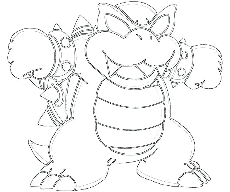 800x667 Goomba Coloring Pages