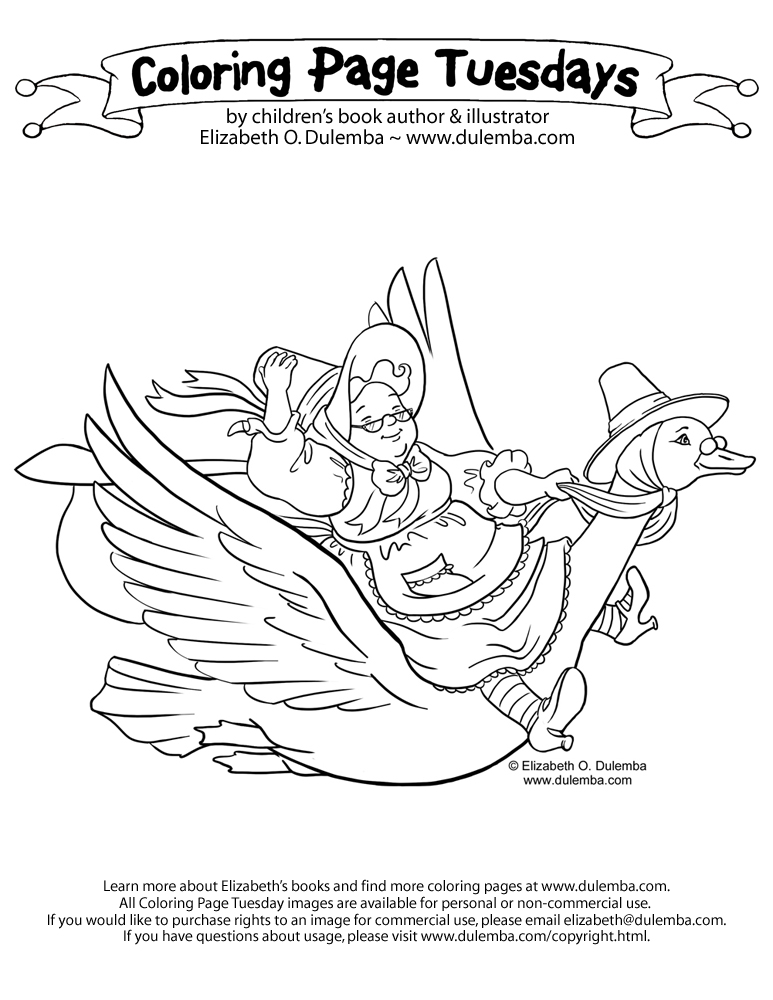 773x1000 Mother Goose Coloring Pages