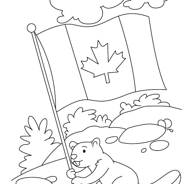 630x600 Goose Coloring Page